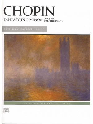 chopin fantasy in f minor op 49 Fantasy in f minor, op 49 sheet music - piano sheet music by frederic chopin: alfred music shop the world's largest sheet music selection today at sheet music plus.